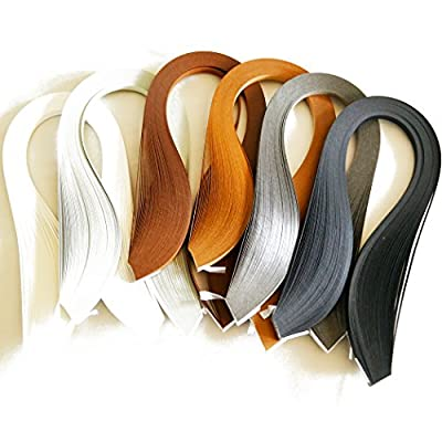 Juya Paper Quilling Set 600 Strips 6 Colors 39cm Length/strips