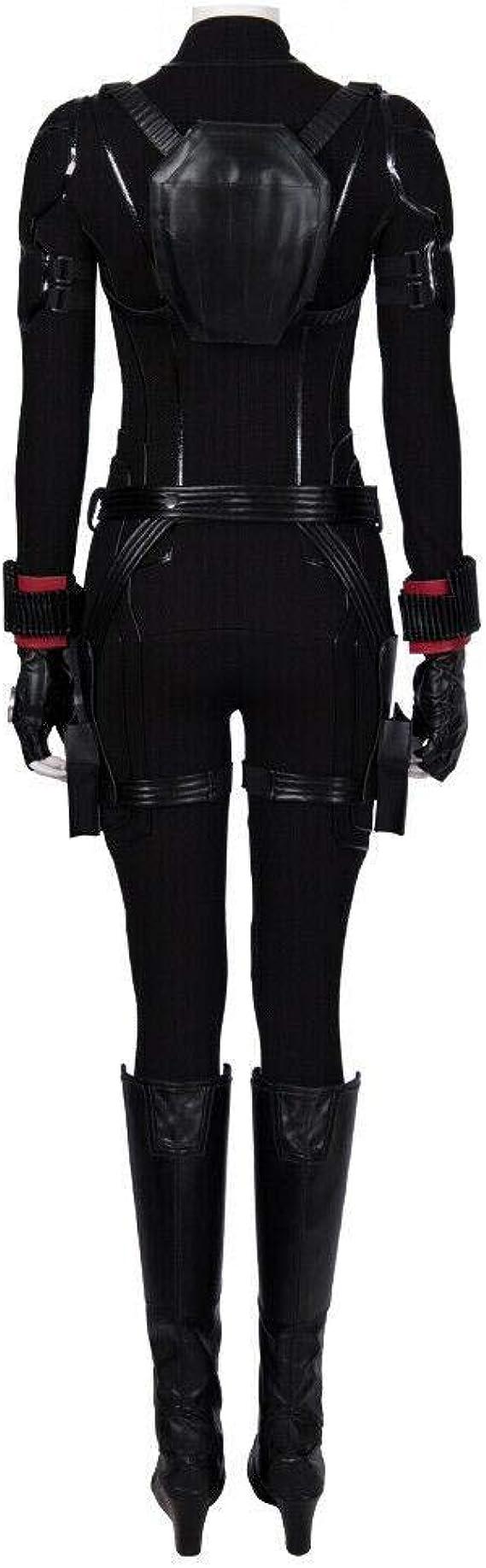 Glam Cos Disfraz de Viuda Negra para Cosplay de Avengers: Endgame ...