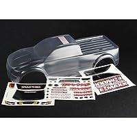 Traxxas 3915 E-Maxx hoja de calcomanías sin escobillas, piezas de automóviles modelo, transparente