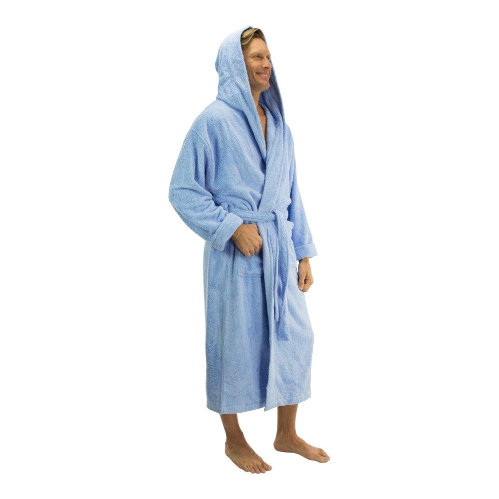 Comfy Robes Mens Bamboo Hooded Robe BMB201