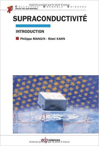 Supraconductivité pdf, epub