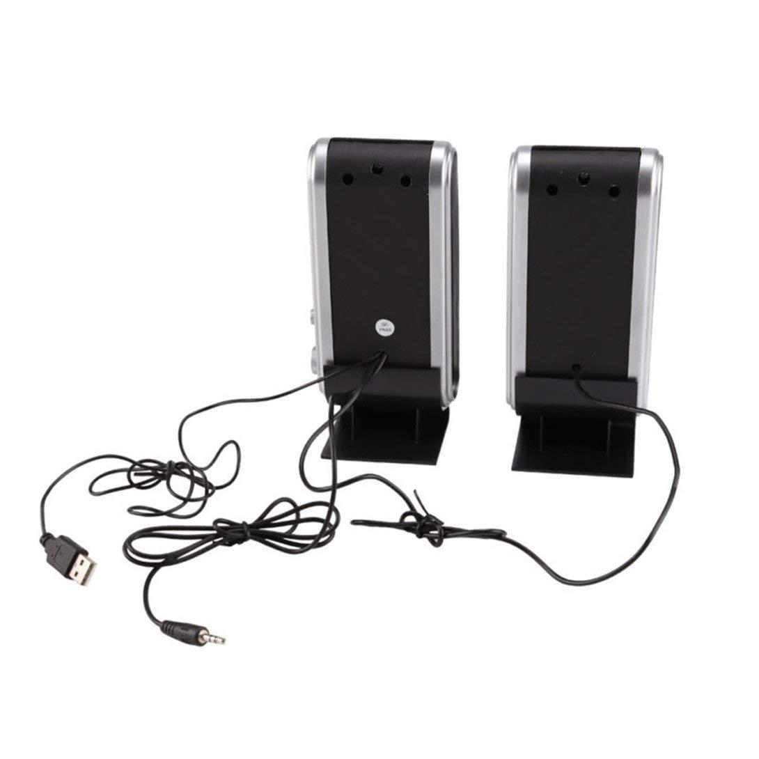 Swiftswan Haut-parleurs sté ré o multimé dia d'ordinateur de HY-218 Soundbox sté ré o USB Portable