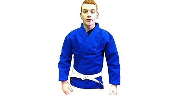 Traje entrenamiento Judo torneo peso pesado azul, H/W Judo ...