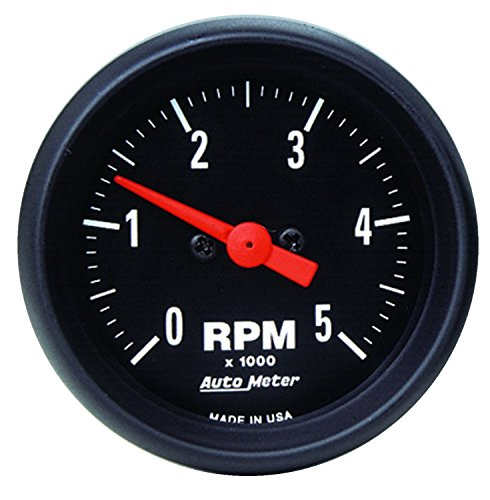 Auto Meter 2697 Z-Series In-Dash Electric Tachometer by Auto Meter