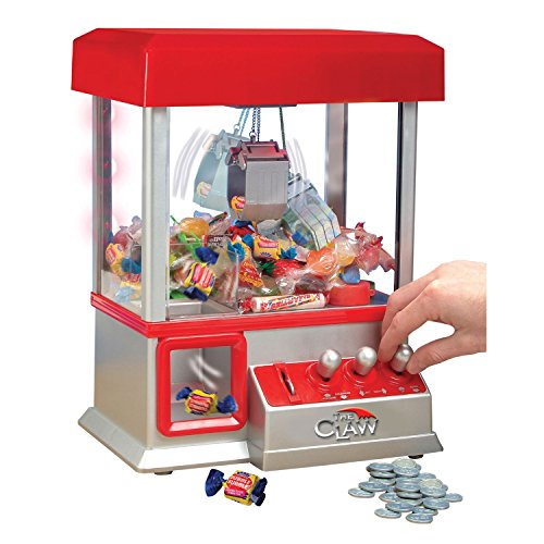 ETNA PRODUCTS CO Claw Arcade Game w/ LED Lights & Sound - Fill With Gum, Candy Or Small Toys by ETNA PRODUCTS CO