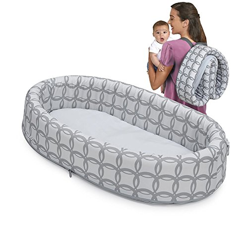 Lulyboo Bassinet to-go Classic Travel Infant Bed – Foldable Cozy Baby Lounge