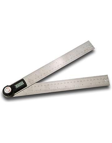 Medidor de ángulo, Risepro® 2 en1 - Medidor digital de ángulo - Regla transportadora