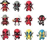 Marvel Deadpool Series 1Coleccionable Estor Bolsa Clave Cadenas