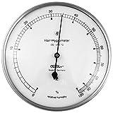 Fischer Instruments 111-01 Stainless Steel 4'' Human Hair Hygrometer