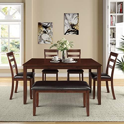 Merax 6-Piece Dining Set