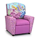 Kidzworld Disney Princess Glow Kids Recliner