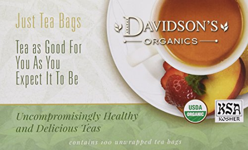 (Davidson's Tea Tulsi Spicy Green, 100-Count Tea Bags)