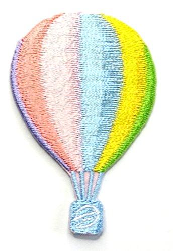 【ノーブランド品】アイロンワッペン ミニワッペン ワッペン 刺繍ワッペン 気球 アイロンで貼れるワッペンの商品画像