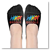 I Love Beagles Pop Women No-Show Casual Liner Socks Low Cut Ankle Socks Boat Socks