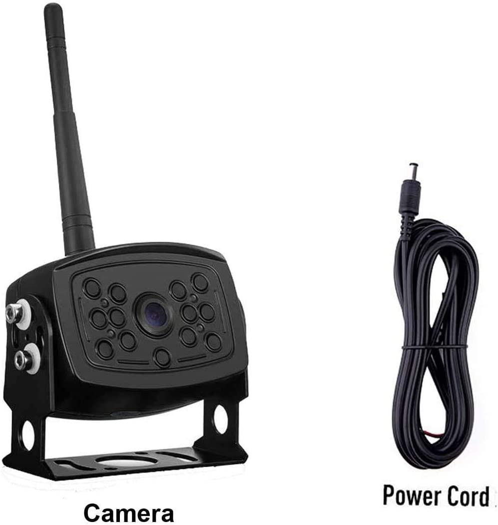 LeeKooLuu New Version Digital Wireless Backup Camera for 7 Inch Digital Wireless System