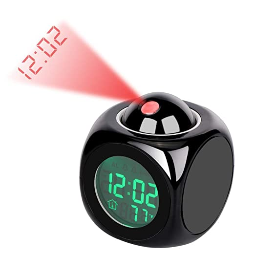 BFORS Multifuncional pequeño Reloj de Alarma, Alarma ...