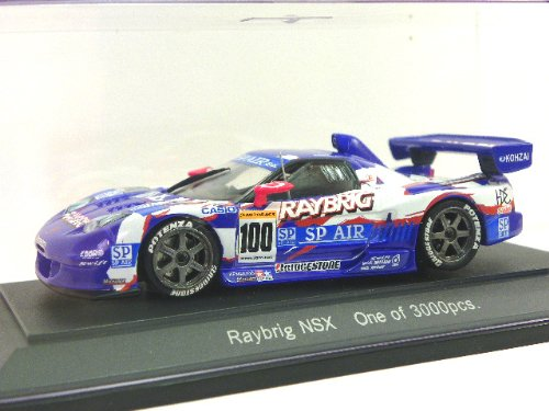 1/43 RAYBRIG NSX JGTC 2002 SP AIR #100(ブルー×ホワイト) 「RACING CAR COLLECTION」 43332