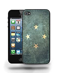 Federal States Micronesia Vintage Flag Phone Case Cover Designs for iPhone 5