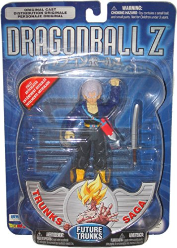 2001 Dragonball Z Trunks Saga Future Trunks 6 Inch Action Figure by Irwin