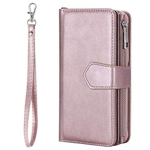 9 Samsung Gold Note Wallet avec note9 de Coque inShang avec Case Design intégré Housse Fonction Cover pour Rose Support Galaxy nqHwfExXR