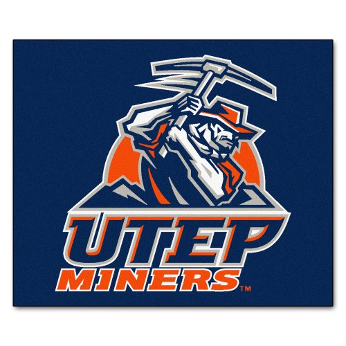 Tailgater Utep Rug (FANMATS NCAA UTEP Univ of Texas El Paso Miners Nylon Face Tailgater Rug)