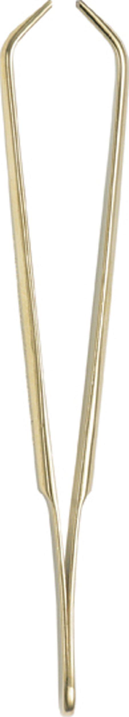 Pfeilring Tweezers, SERVINA 24 K Gold-Plate Clamp Jaw, 9cm, .46-Ounce Package