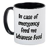 CafePress - Feed Me Lebanese Food - Unique Coffee Mug, Coffee Cup