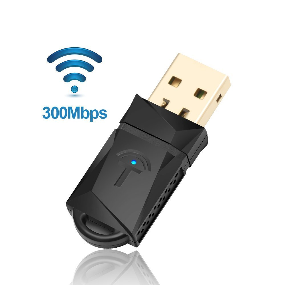 Rocketek 600Mbps Wireless USB WiFi Dongle Adapter, Dual Band (2.4G/150Mbps + 5G/433Mbps) Tarjeta de red inalá mbrica lan para Windows/XP/Vista/7/8/10/Linux/Mac OS X RT-WL3AT
