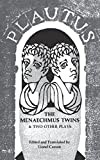 img - for The Menaechmus Twins and Two Other Plays (Norton Library (Paperback)) book / textbook / text book