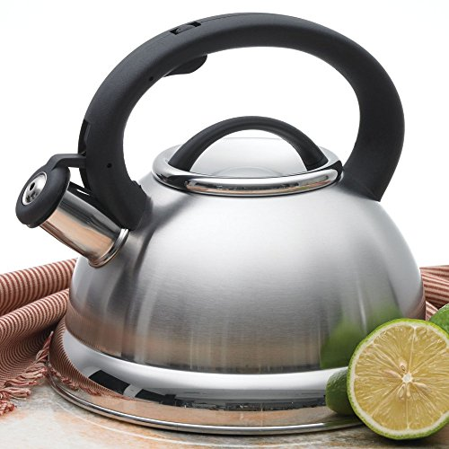 Creative Home Alexa 3.0 Stainless Steel Whistling Tea Kettle