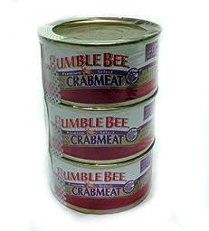 Bumble Bee Premium Select Crabmeat 3 - 6 oz. Cans