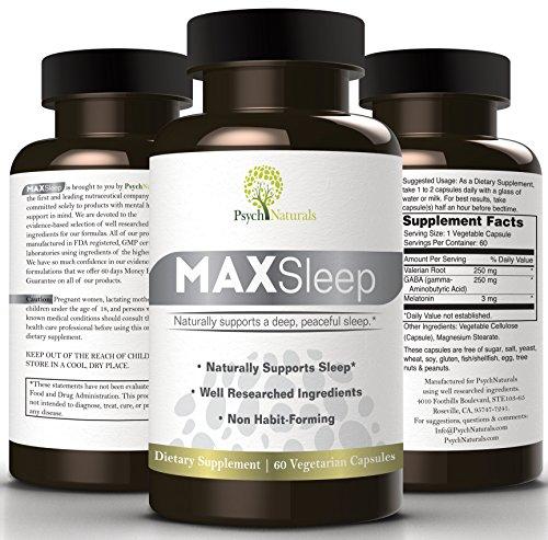 MAXSleep American Sleeplessness Melatonin Refreshing product image