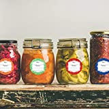 Canning Labels for Jars 2 Inch Round 200 Pcs for