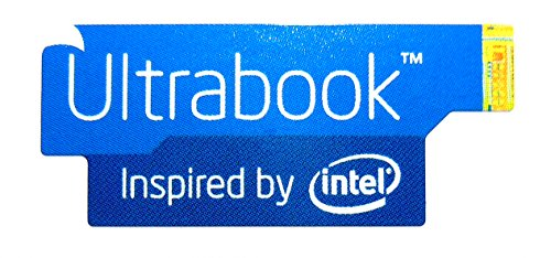 Original Ultrabook Inspired by Intel Sticker 13 x 30mm [689]