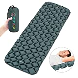 ZOMAKE Camping Sleeping Pad, Inflatable Sleeping Mat for Backpacking Hiking Traveling, Ultralight Weight