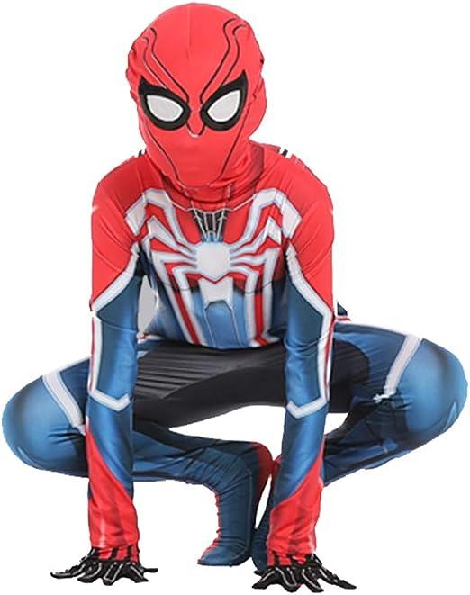 YXRL Disfraces De Halloween Niños Spiderman Cosplay Medias Trajes ...