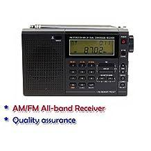 GOWE 210 FM radio digital tuning Wide band full band stereo radio dual conversion receiver SW MW LW