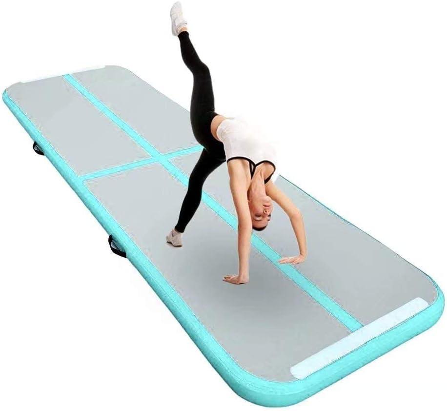3//4//5//6M 20CM DICK Turnmatte Air Matte Track Gymnastikmatte Tumbling Aufblasbar