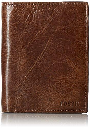 Card Credit Bills Buffalo (Fossil Men's Leather RFID Blocking International Combi Wallet)