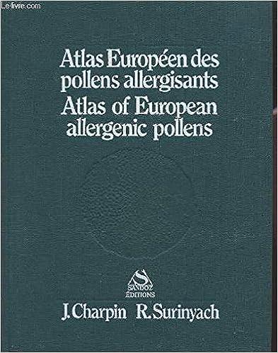 En ligne téléchargement gratuit Atlas Européen des pollens allergisants - Atlas of European allergenic pollens epub, pdf
