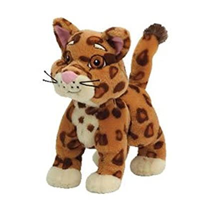 Boots The Original Beanie Babies Set of Three TY Baby Jaguar and Diego