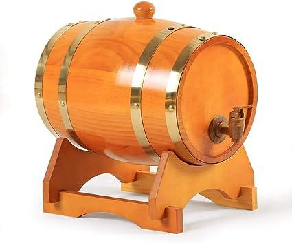 ZXPYZ Roble Barril De Vino - Cerveza, Whisky, Ron Puerto De Barriles De Roble del Vino De Madera Viejos, Roble - Maroon 25L