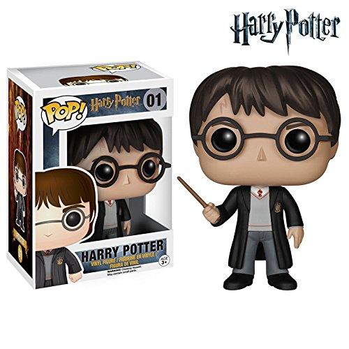 Harry Potter Movies Figma Model Harry James Potter figurinhas 10cm PVC Funko POP Vinyl Action Figurine Toy For Best Friend