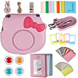 Neewer 25-in-1 Camera Accessory Kit for Fujifilm Instax Mini 8 8s 9 Instant Film Camera, Includes: Camera Case with Adjustable Strap, Various Frames, Book Album, Color Filters, Selfie Lens, Stickers