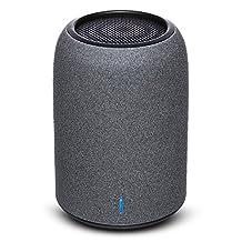 Portable Speakers, ZENBRE M4 Wireless Bluetooth Speakers, Mini Computer Speakers with Enhanced Bass Resonator, built-in Microphone (Black)
