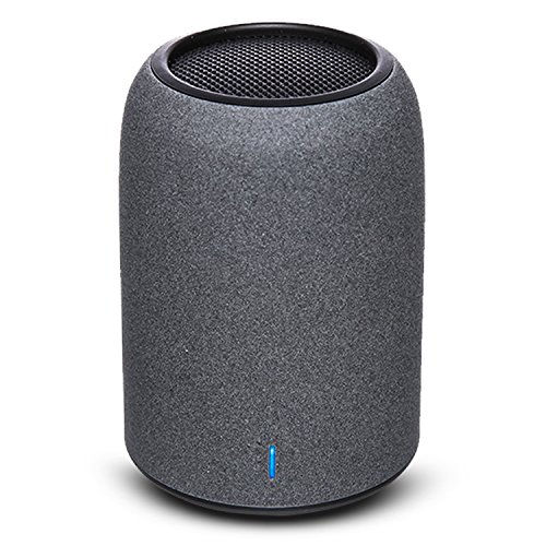 Portable Bluetooth Speaker, ZENBRE M4 Bluetooth 4.2 Mini Speakers, Pocket Size Wireless Speakers with Enhanced Bass Resonator, Built-in Mic for Phone Call, 5-Hour Playtime (Black)