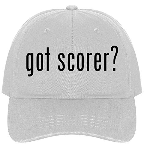 The Town Butler got Scorer? - A Nice Comfortable Adjustable Dad Hat Cap, White