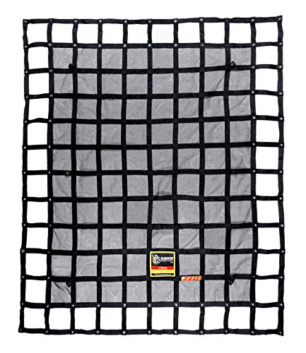 Gladiator Cargo Net - Heavy Duty Truck Cargo Net - Medium (MGN-100) 6.75' x 8' ft.