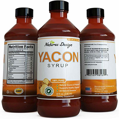 Pure Yacon Syrup for Women & Men - Natural Sweetener ★ Highest Grade & Quality ★ Ultra Strength, Potency & 100% Natural, Safe Weight Loss - Guaranteed By Natures Design by Natures Design (Image #4)