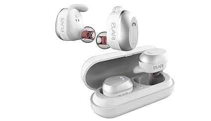 Elari NanoPods, Auriculares inalámbricos de alta fidelidad con micrófono y funda de carga magnética (
